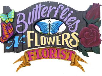 Butterflies N Flowers Florist